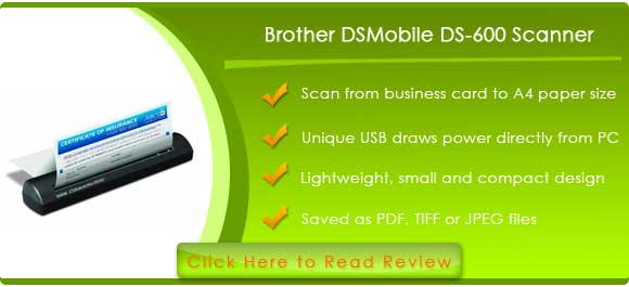 Brother DSMobile Scanner (DS-600)